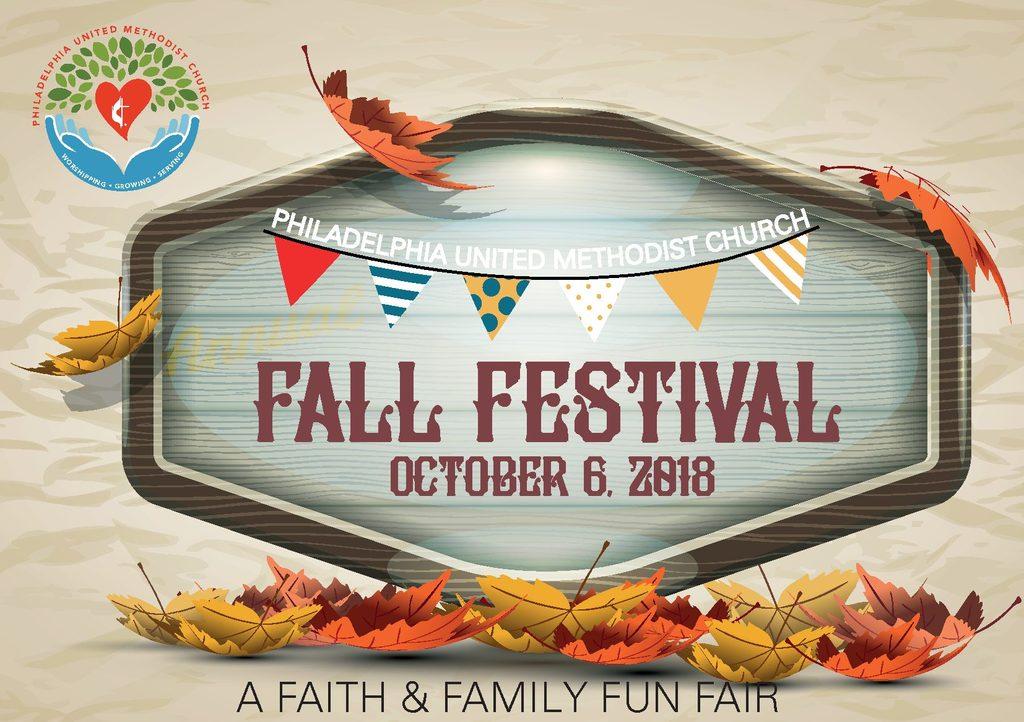 2018 Fall Festival Cover