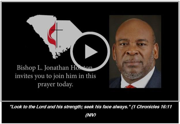 Prayer With Bishop Holston