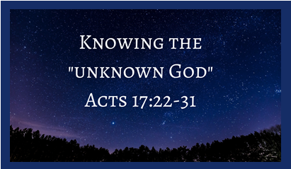Knowing the Unknown God