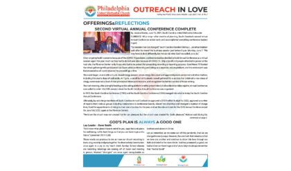 Outreach in Love – July