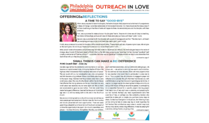 Outreach in Love – June
