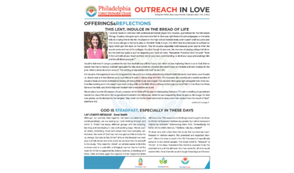 Outreach in Love – March