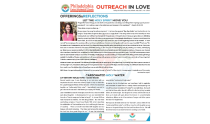 Outreach in Love – May