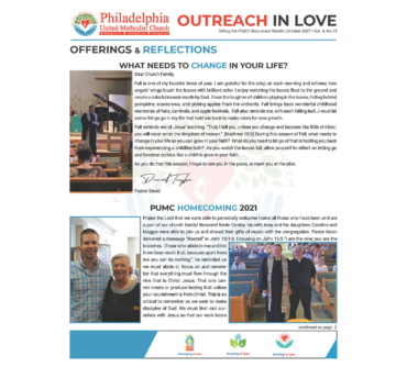 Outreach in Love – Oct.